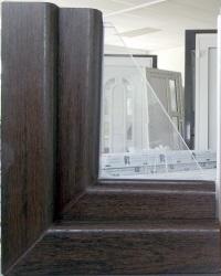 Abc fenster au edekor mooreiche innen weiss for Fenster 90x120