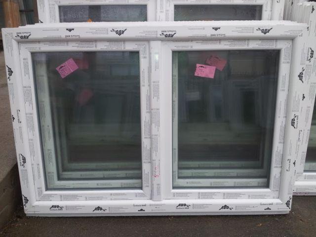 Trendig ABC Fenster - Kunststofffenster Seebach 8000 175x120 cm (b x h  KA68