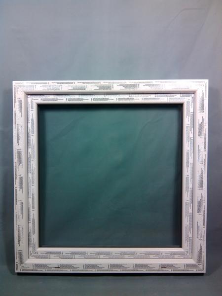 Kunststofffenster Fenster Salamander weiß 100x100 cm 2-flügelig b x h